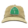 HIGHWAY 1 HAT - TAN CORDUROY
