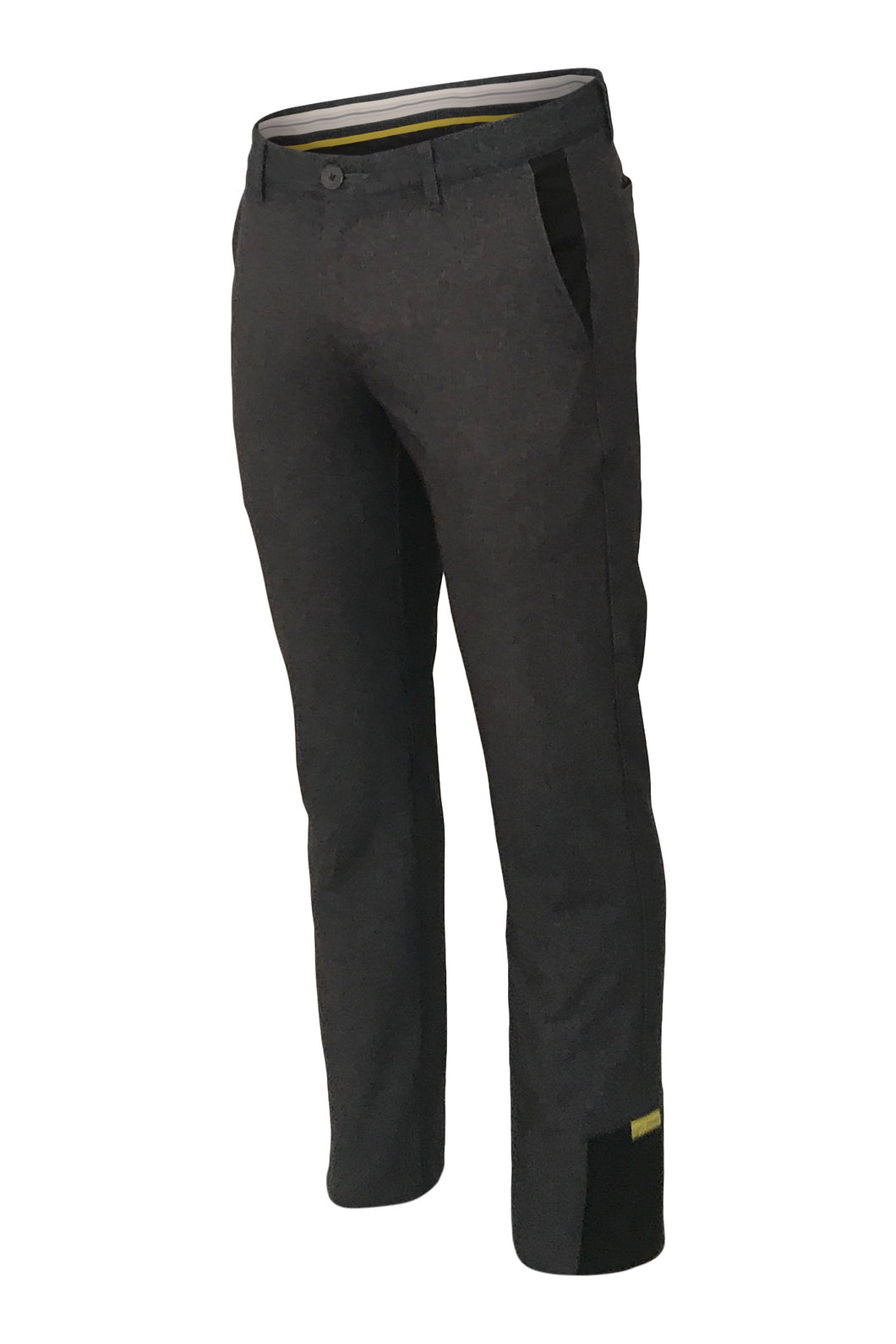 CLUBHOUSE PANTS PLUS - BLACK MELANGE
