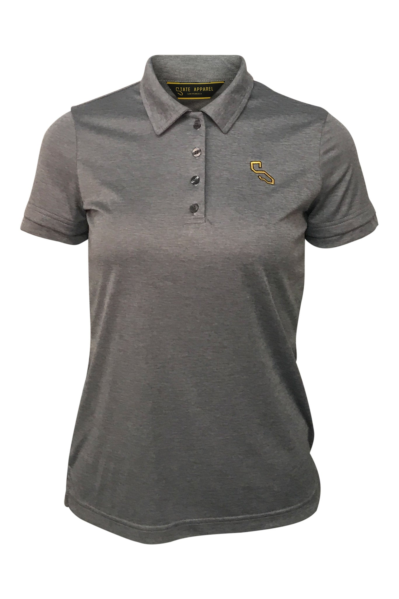 PIXLEY POLO - GRAY