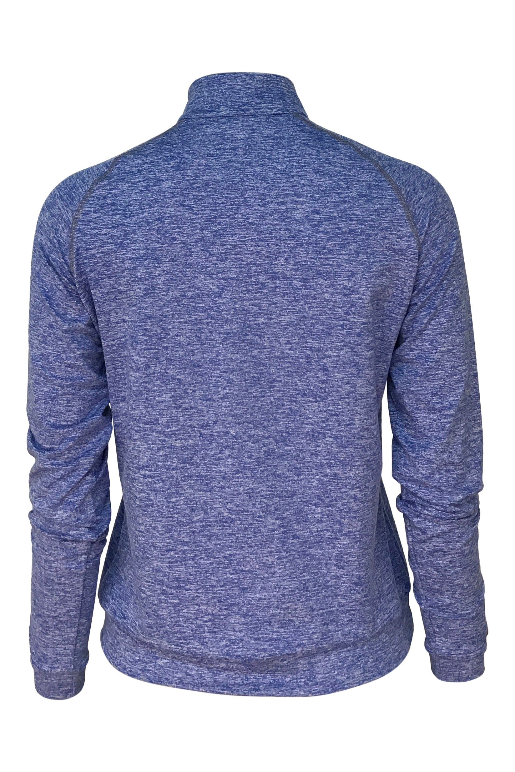 FILLMORE QUARTER ZIP - HEATHER BLUE