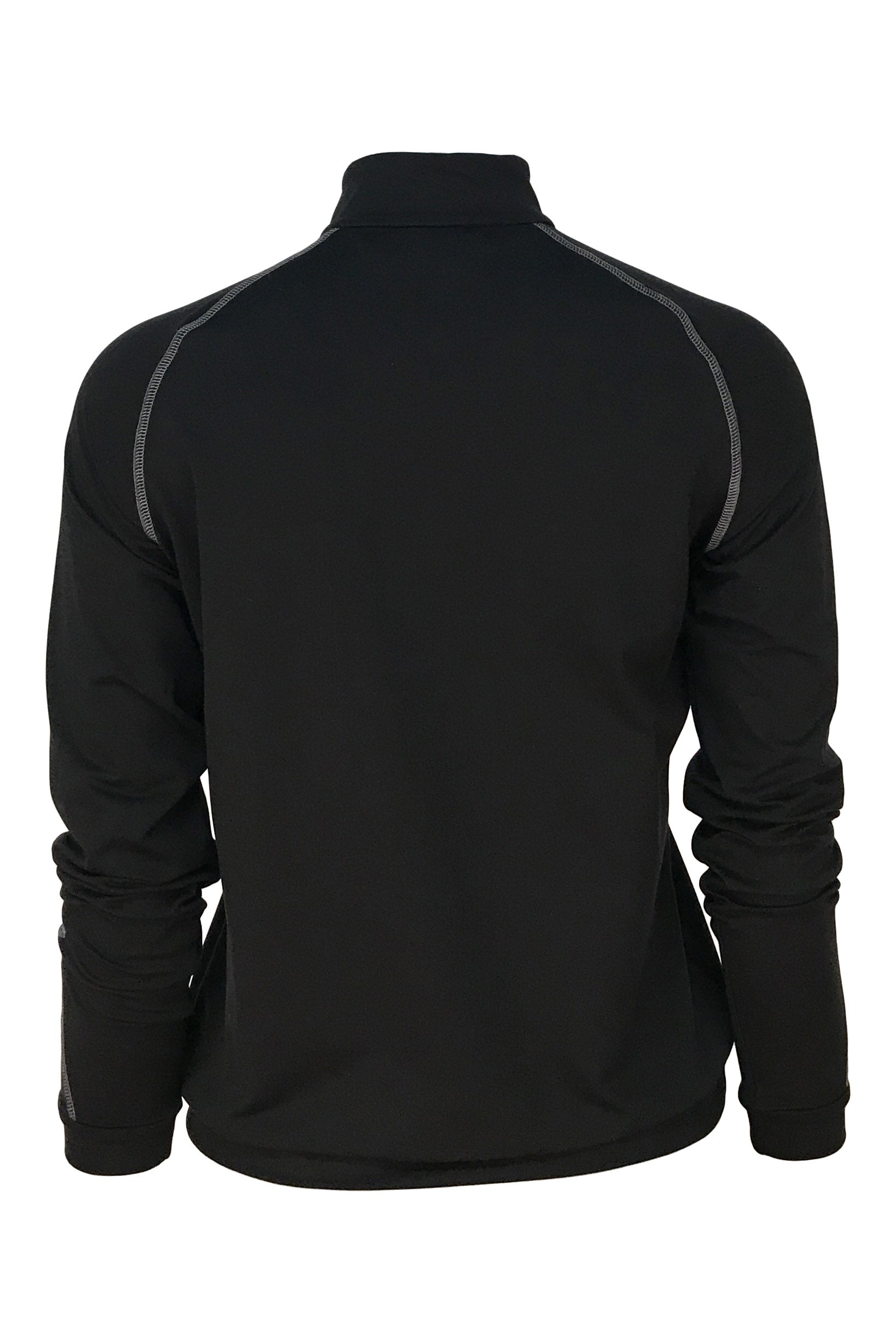 FILLMORE QUARTER ZIP -  BLACK