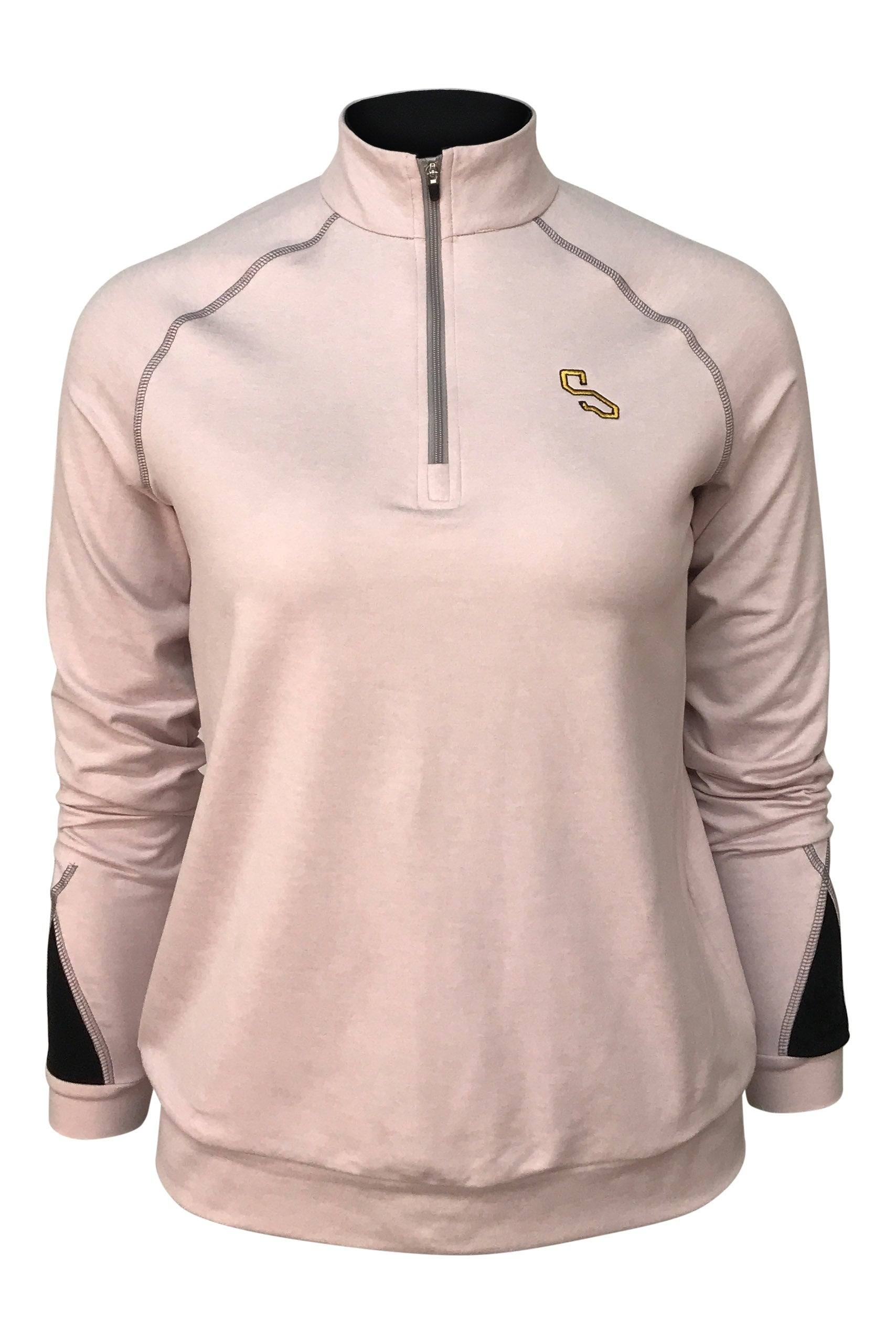 FILLMORE QUARTER ZIP -  DUSK PINK