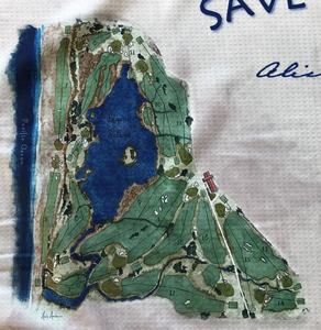 SAVE SHARP PARK TOWEL