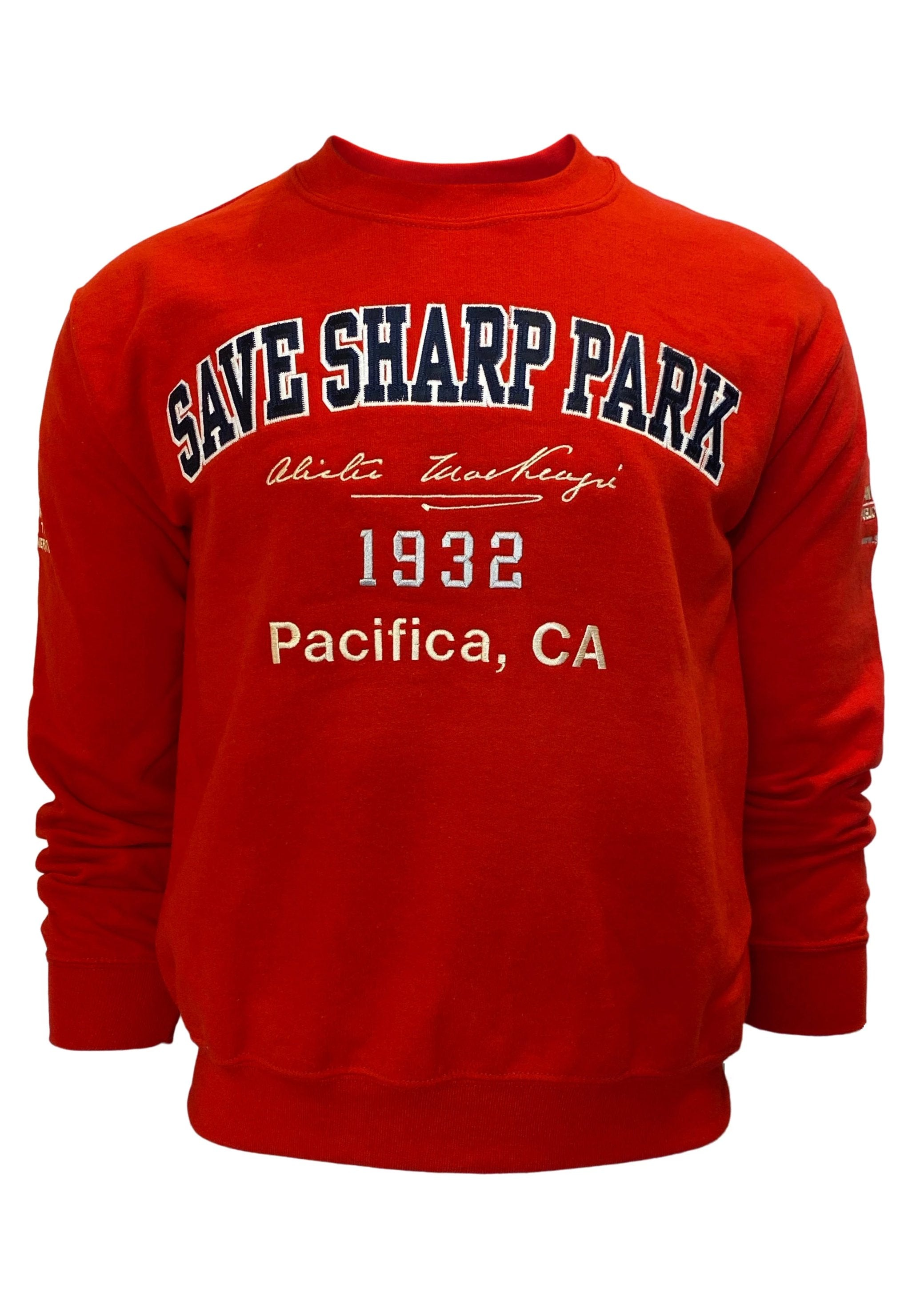 SAVE SHARP PARK SWEATSHIRT