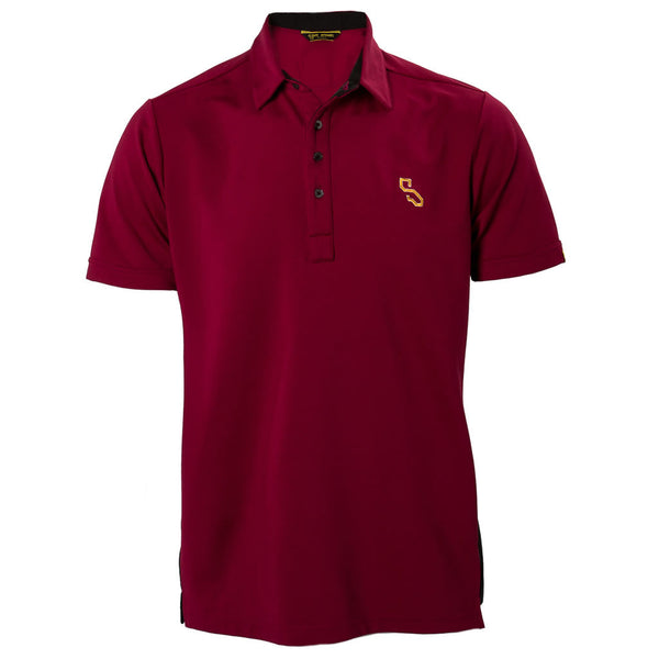 COMPETITION SHIRT - MERLOT