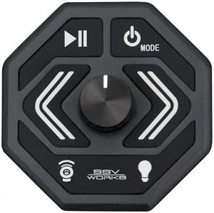 SSV Works Panel mount Bluetooth Media Controller with AUX Input and USB Charger