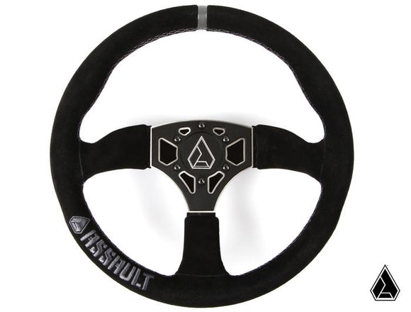 Assault Industries 350R Suede Steering Wheel (Universal)