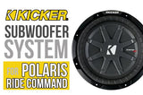 SSV Works Polaris RZR XP Turbo S Complete Kicker 2-Speaker Plug-and-Play Audio System