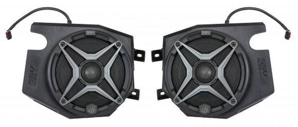 SSV WORKS POLARIS RZR 2014 AND UP FRONT SPEAKER PODS WITH 120 WATT 6 1/2 SPEAKER