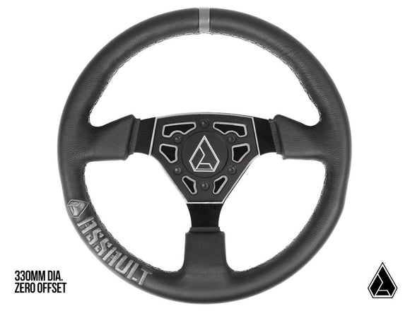 Assault Industries Navigator Leather Steering Wheel (Universal)