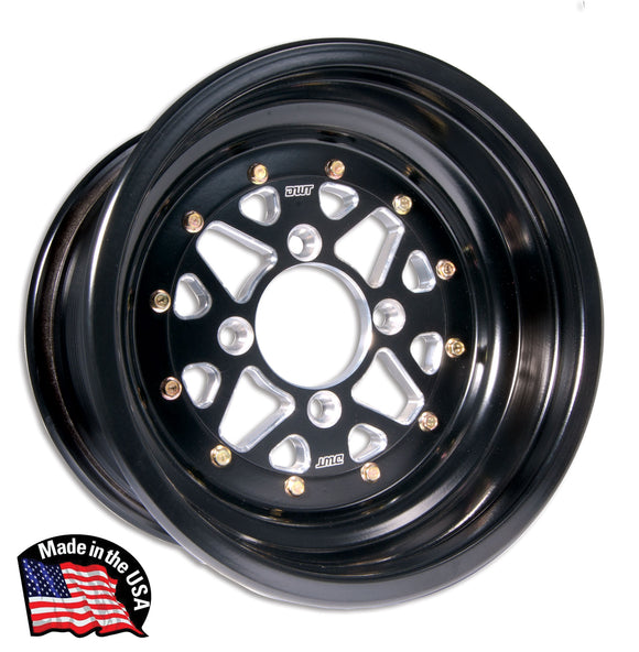 DWT SECTOR ROLLED LIP 3 PIECE WHEEL (ULTRA LIGHT AND ULTRA STRONG)