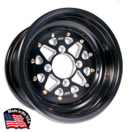 DWT SECTOR ROLLED LIP 3 PIECE WHEEL and SKAT TRAK PADDLES (ULTRA LIGHT AND ULTRA STRONG)