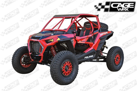 "CAGEWRX RZR XP 1000 (2019+) / XP TURBO S ""SUPER SHORTY"" ASSEMBLED"
