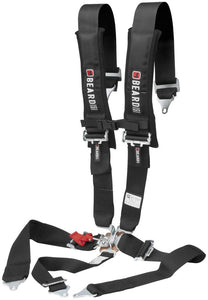 Beard 5 Point 3x3 Safety Harness in Black, Latch & Link Buckle