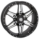 STI HD7 Alloy Wheel 4/156 18x7 4.0 + 3.0 Matte Black/Machined