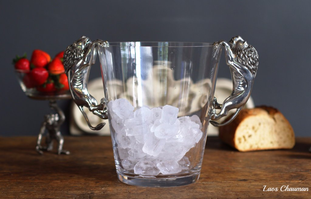 glass ice bucket for sale,how to throw a dinner party,pottery barn wine bucket