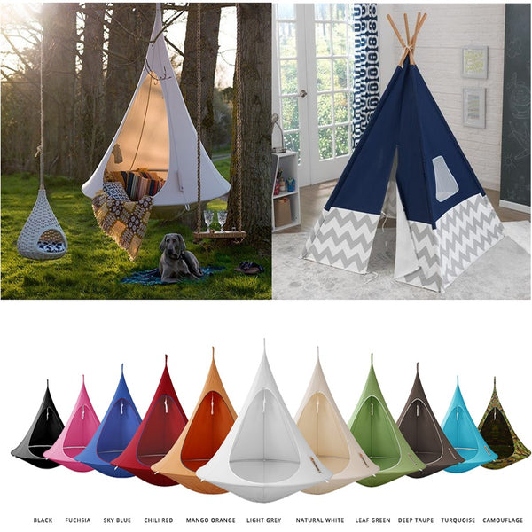 cacoon hanging tents,the alley exchange,hanging tents,hammocks for sale,colored hammocks,hanging tents for sale,backyard hammocks,backyard lounge,tree hammocks,kids hammocks,kids tents,