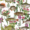 lagoon fish wallpaper for walls, coastal wallpaper for sale