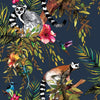 Madagascar Wallpaper Navy