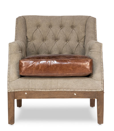 restoration hardware deconstructed club lounge chair, modern farmhouse leather and wood lounge chairs