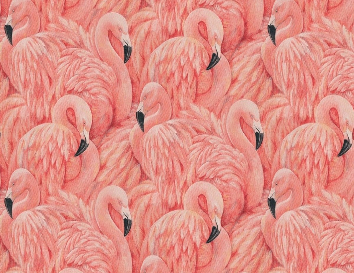 Large Flamingo Wallpaper - The Alley Exchange