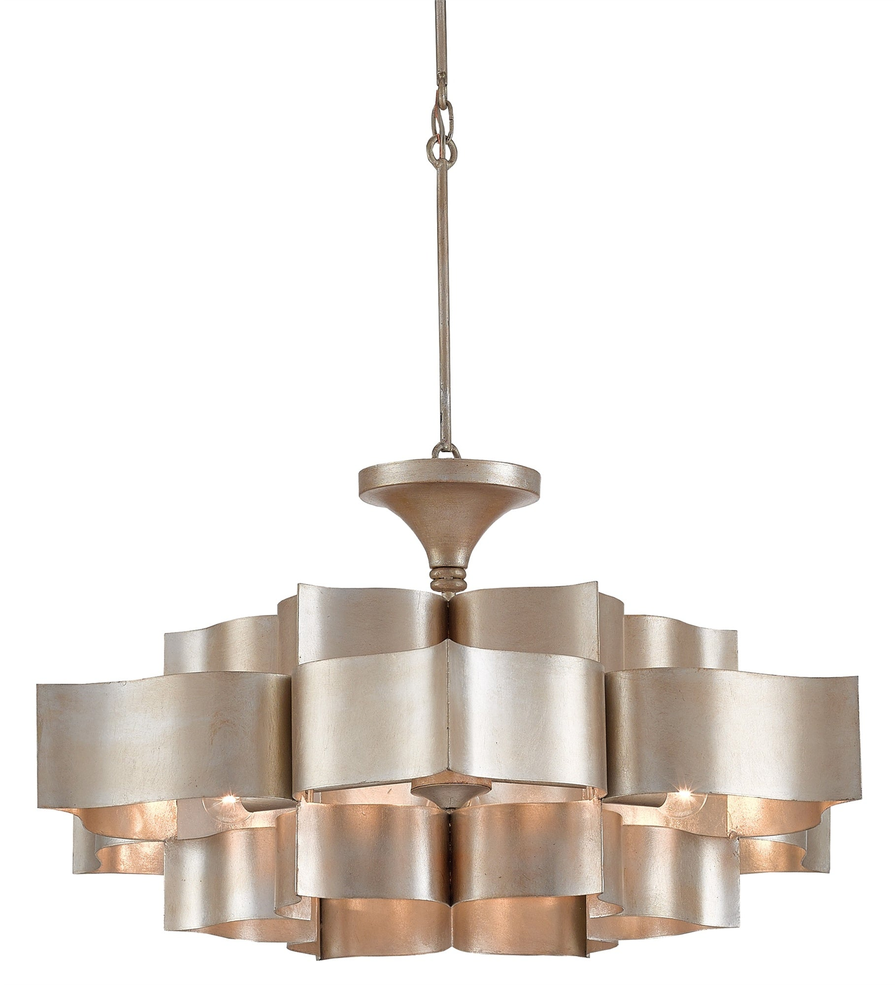 luxury glass chandelier kitchen glam home products silver light pendant hollywood square art mariana metal soft leaf lighting skyler island