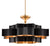 Grand Lotus Chandelier - Black