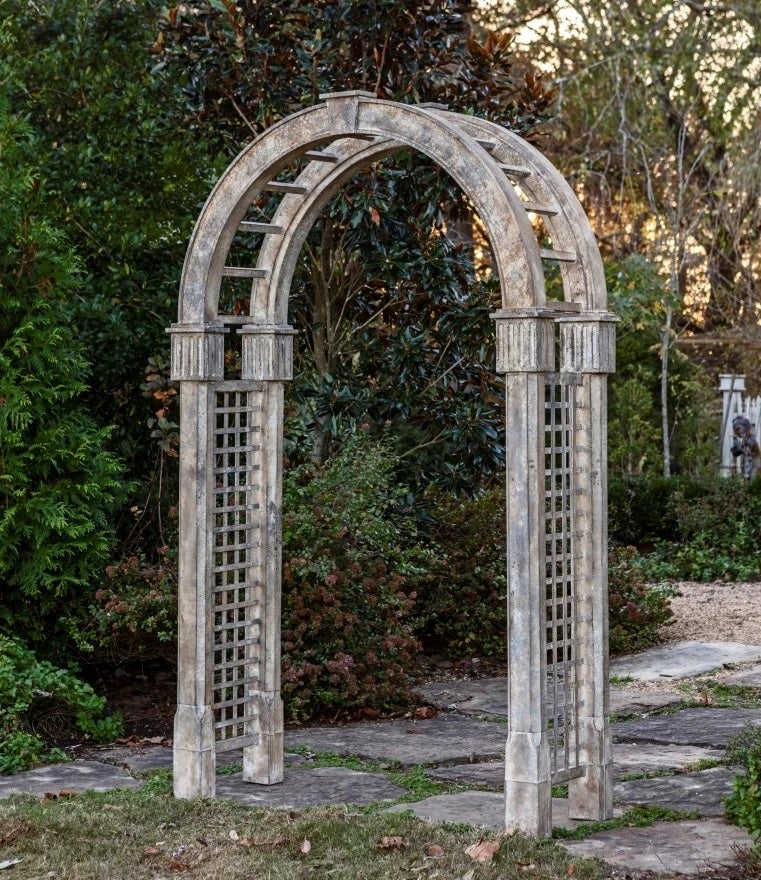 Aged Iron Garden Arbor for sale, Aged Iron Conservatory Facade