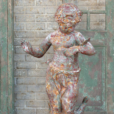 estate garden iron statuary for sale, landscaping iron statuary online sales
