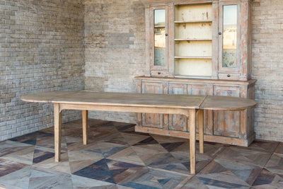 Park Hill Long Hickory Dining Table for sale, Long Folding Farmhouse Tables for sale