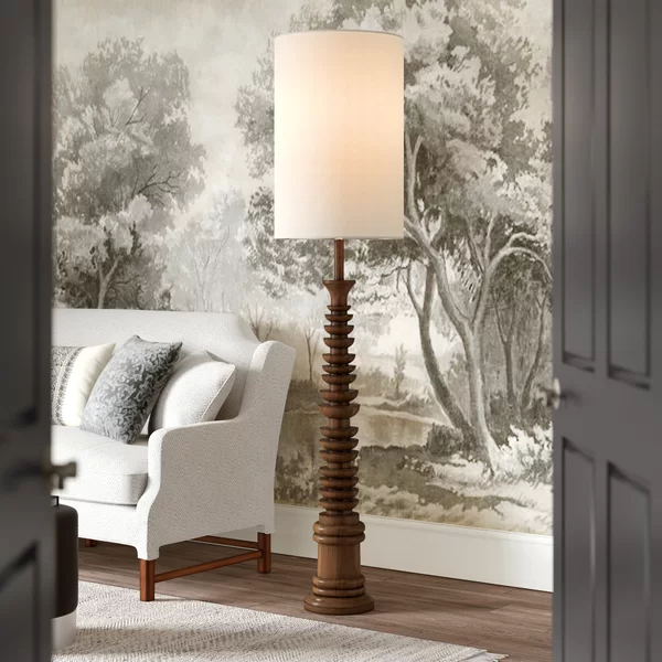 Tropical Wooden Floor Lamps for sale, Coastal Wooden Floor Lamps for sale