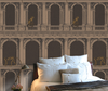 two monkeys wallpaper cole and son gold, cole and son fornasetti wallpaper collection