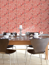 Large Flamingo Wallpaper for sale, flamingo miami style wallpaper for sale