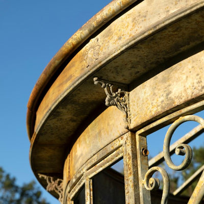 antique metal gazebo for sale, park hill collection conservatory for sale