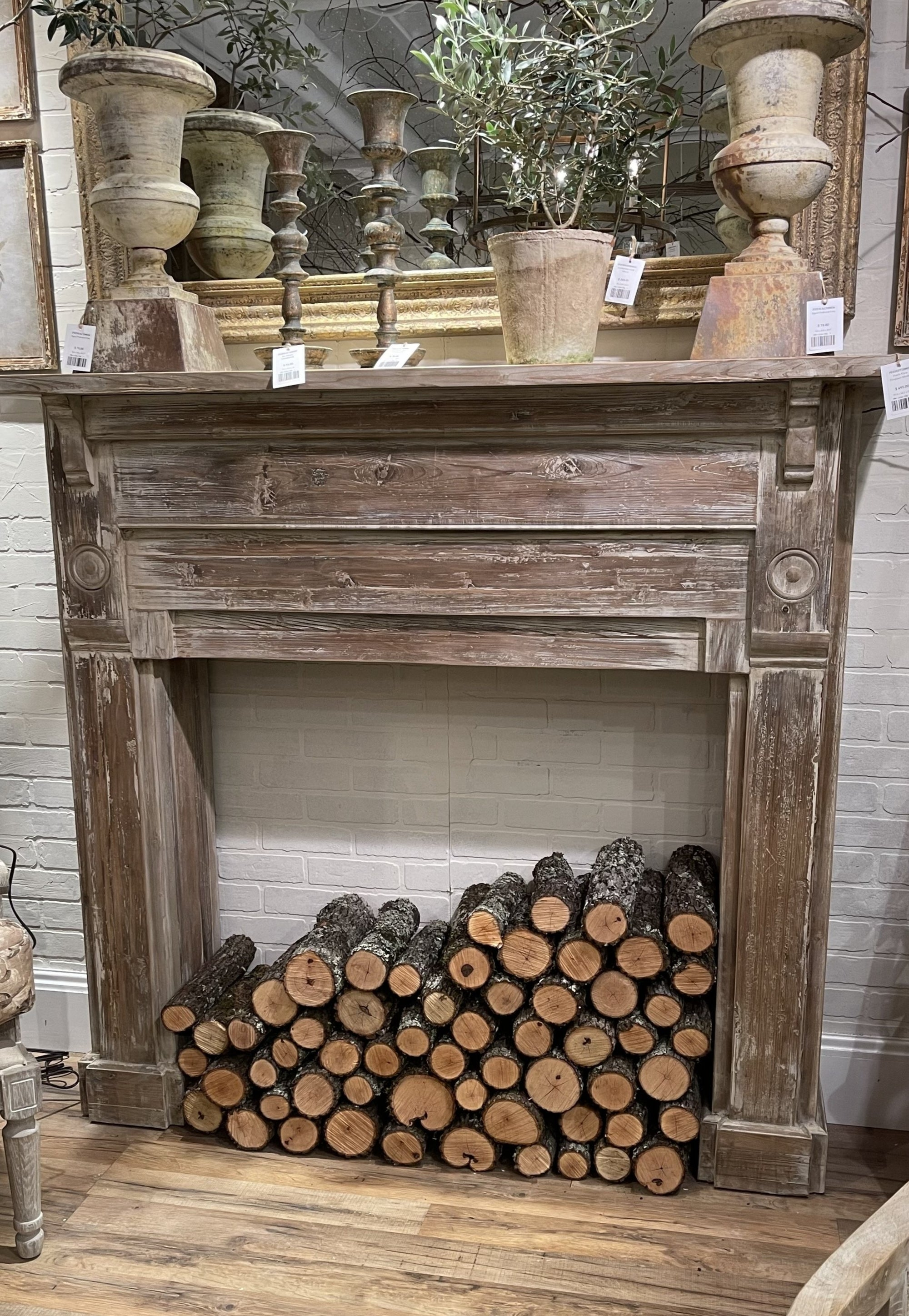 Heritage House Fireplace Mantel