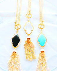 Convertible Stone Necklace All Colors