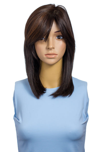 Renaissance Virgin Dark Brown Wig 1156RWC
