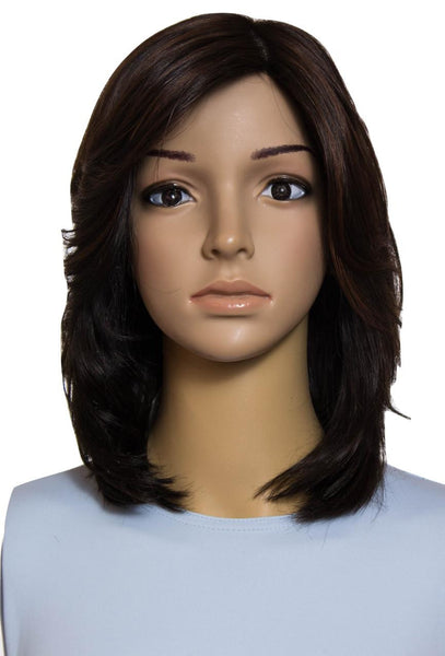 Miri Virgin European Hair Dark Brown Wig 1236MWC