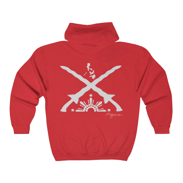 Swords and Suns Unisex Heavy Blend™ Full Zip Hooded Sweatshirt