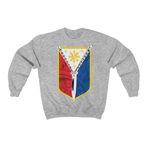 Balisong Shield Unisex Heavy Blend™ Crewneck Sweatshirt