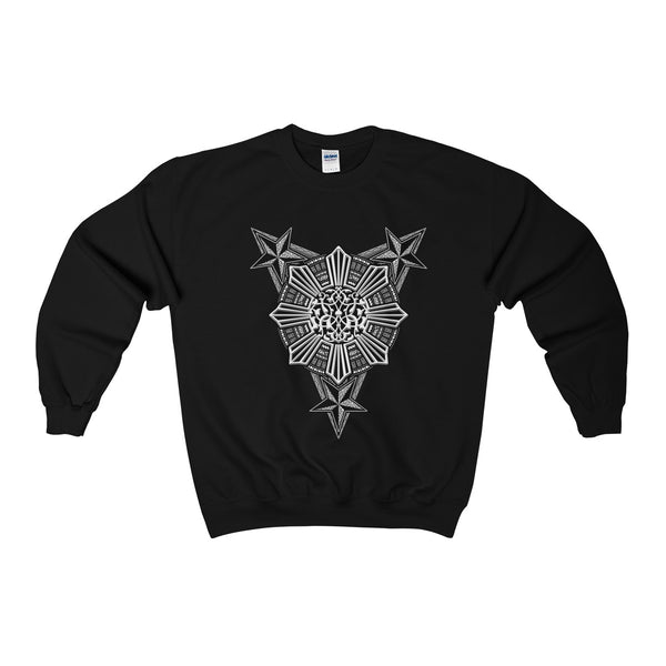 Tribal Sun Crewneck Sweatshirt
