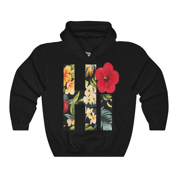Hi Floral Hawaii Hooded Sweatshirt