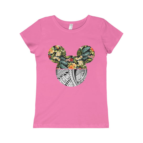 Floral Tribal Girls Princess Tee