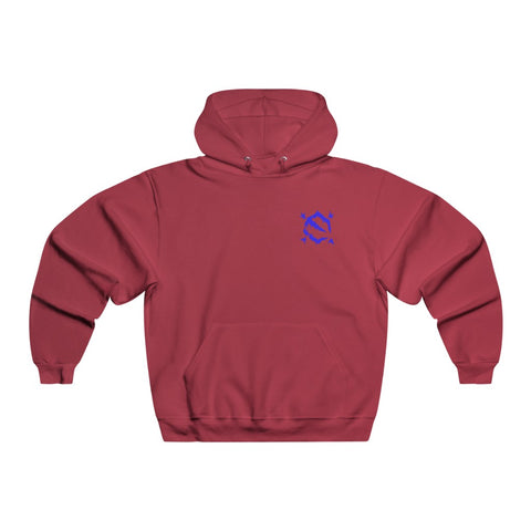 EZ MIL BLUE Emblem Hooded Sweatshirt