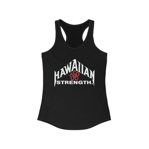 Hawaiian Floral Strength Racerback Tank