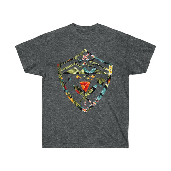 Hawaii Floral Shield Unisex Ultra Cotton Tee