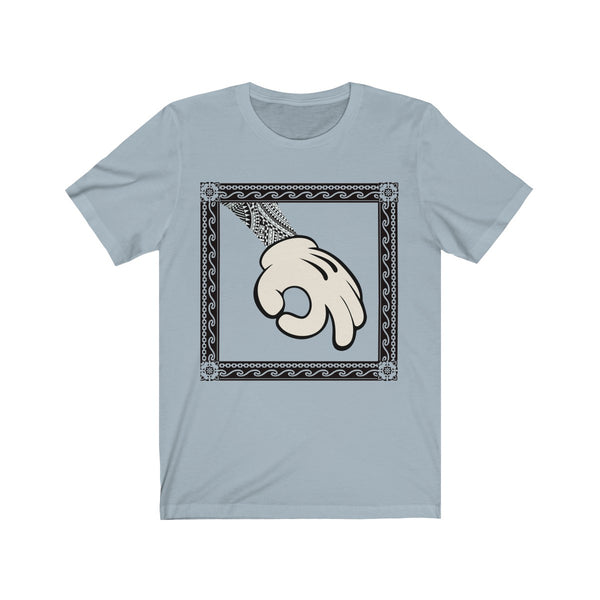 Tribal Circle Hand Unisex Jersey Short Sleeve Tee
