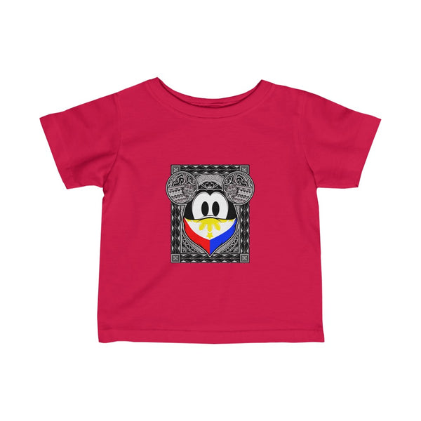 Philippines Tribal Mouse Infant Fine Jersey Tee