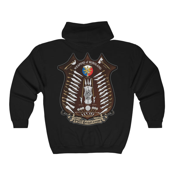 Weapons of Moroland  Full Zip Hooded Sweatshirt
