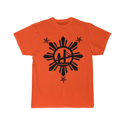 3 Stars and Sun Bridges Men's Short Sleeve Tee